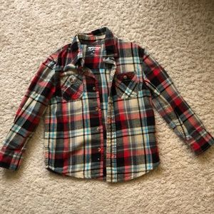 Boys size 5t flannel shirt